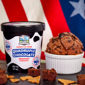 Quadruple Chocolate Premium Ice Cream