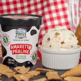 Amaretto Praline Premium Ice Cream