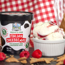 Italian Cheesecake Premium Ice Cream