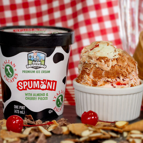 Spumoni Escapes Premium Ice Cream