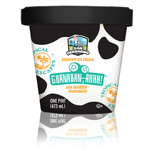 Guanaban-ahhh! Tropical Escapes Ice Cream