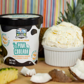 Pina Coolada Tropical Escapes Ice Cream
